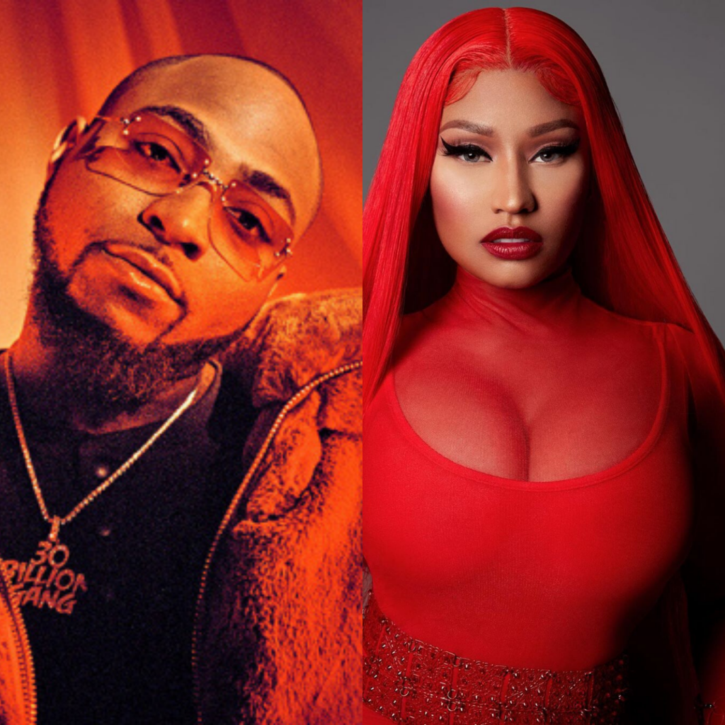 Davido to release a new song featuring Nicki Minaj
